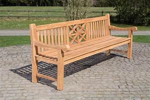 Holz Gartenbank Massiv : teakbank florida v2 sitzbank holzbank gartenbank parkbank massiv teakholz bank ebay ~ Markanthonyermac.com Haus und Dekorationen