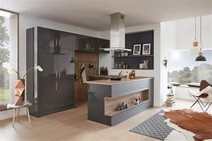 Küchen Aktuell Hildesheim : musterring k che mr2400 farbe nero grau modern k che hannover von k chen aktuell ~ Markanthonyermac.com Haus und Dekorationen