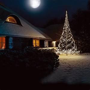 Weihnachtsbaum Led Außen : k nstlicher weihnachtsbaum 6 m lichterkette f fahnenmast 720 led kaltwei au en ebay ~ Markanthonyermac.com Haus und Dekorationen