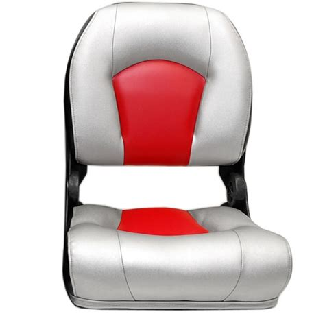 Red Fishing Boat Seats by Lowe Boat Fishing Seat Deep Vee 1973622 Folding Red