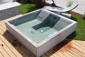Jacuzzi Was Ist Das : dade design beton whirlpool concrete jacuzzi ~ Markanthonyermac.com Haus und Dekorationen