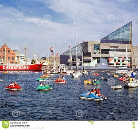 Pedal Boat Baltimore by Baltimore Aquarium Powerplant And Chesapeake Lightship