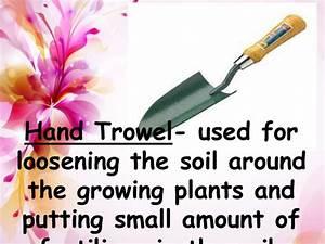 Gardening Trowel. GARDENING TOOLS FOR BEST GARDEN ...