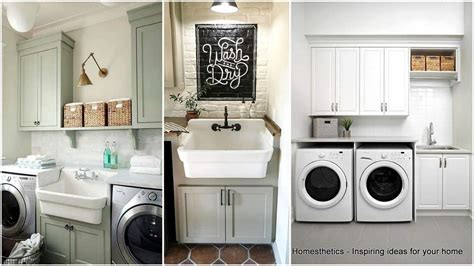 41 Beautifully Inspiring Laundry Room Cabinets Ideas To Home Depot Garage Door Spring Steel Guys Taylor Overhead Custom Size Interior Doors Exterior French New Cabinet Cheap For Sale