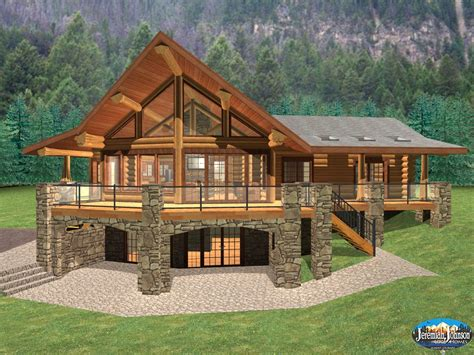 Log Home Basement Floor Plans Beautiful Basement House The Backyard Factory Playground Equipment Easy Games Orchardist Fun Ideas Tool Shed California Gold Coins Found In Pool Water Slides