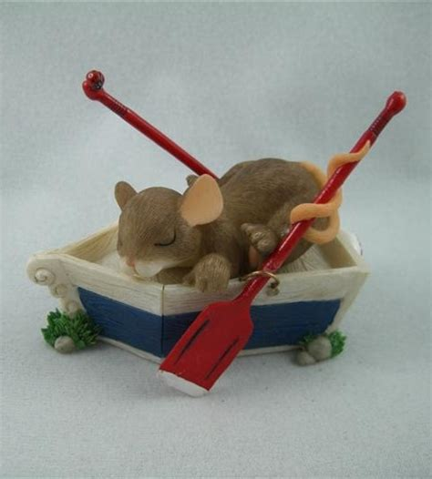 Dream Boat Limited by Mice Figurines You Re A Dream Boat Woolvey Retired