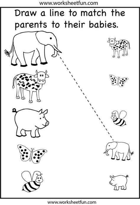 7 Best Images Of Printable Preschool Matching Worksheets  Free Preschool Matching Worksheets