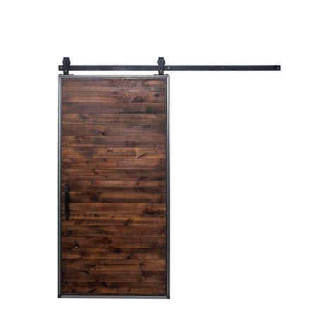 barn door home depot rustica hardware 42 in x 84 in mountain modern home
