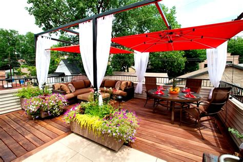 best patio umbrella Deck Contemporary with deck deck