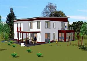 überdachte Terrasse Bauen : pultdachhaus in massivbauweise bauen gse haus ~ Markanthonyermac.com Haus und Dekorationen