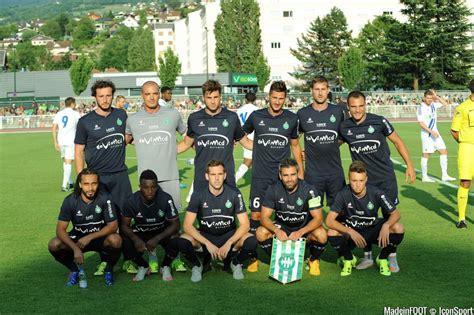 photos foot equipe etienne 08 07 2015 etienne lausanne match amical