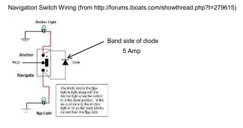 Boat Stern Diagram by Bow And Stern Light Wiring Need Help The Hull Truth