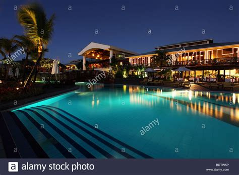le meridien ile maurice hotel pointe aux piments mauritius stock photo royalty free image