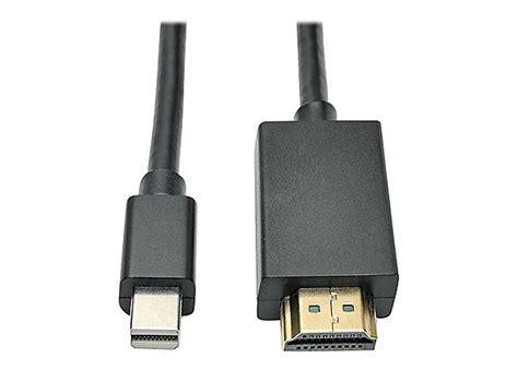 tripp lite 6ft mini displayport to hdmi adapter cable 1080p 1920 x 1080 6 p586 006 hdmi