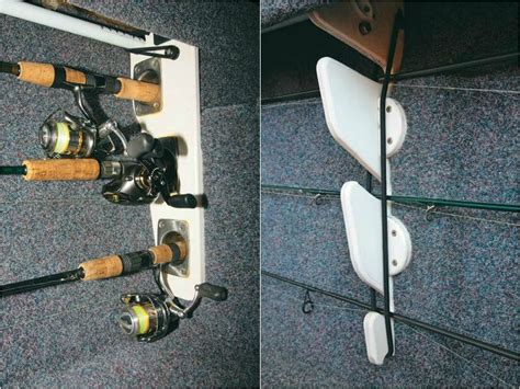 Homemade Fishing Rod Storage For Boats by How To Make Your Own Fishing Rod Rack On A Boat Trade