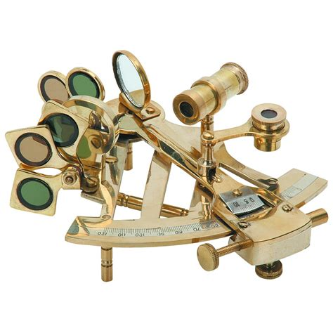 Sextant Measures by Nautical Sextant