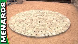 circular patio kit how to menards