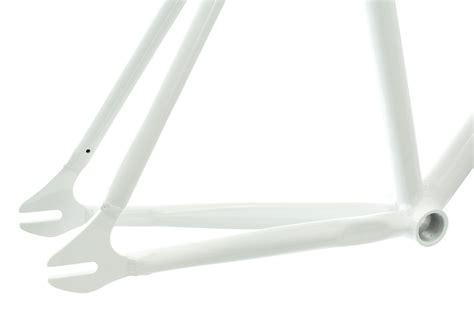 exs kit cadre piste alu fourche carbone blanc alltricks fr
