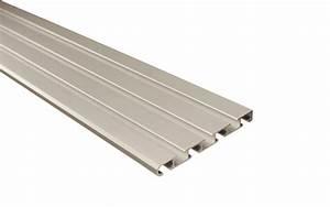 Gardinenschiene Alu 1 Läufig : 4 l ufige vorhangschiene aus aluminium silber ~ Markanthonyermac.com Haus und Dekorationen