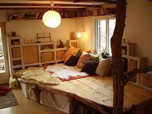 Bett Im Wohnzimmer : podest wohnideen boden pinterest podest wohnideen und kinderzimmer ~ Markanthonyermac.com Haus und Dekorationen