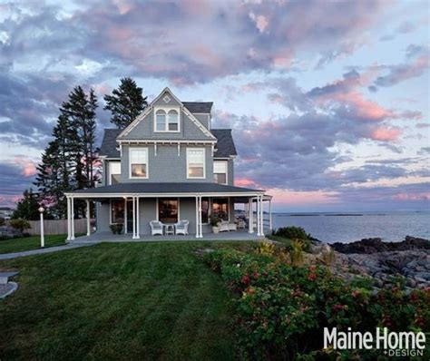 A Victorian Summer Cottage On Kennebunk Beach  Hooked On