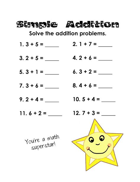 Math Activity Sheets For Grade 1  Place Value Worksheets Activity Sheets For Kids Math