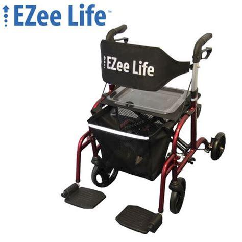 ezee 18 8 quot seat width folding aluminum combination