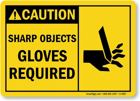 Sharp Objects Gloves Required Sign, Sku S4097. Tractor Signs Of Stroke. Geek Signs Of Stroke. Sign Post Signs Of Stroke. Zodiac Sign In Love Signs. Antidepressants Signs. Opioids Signs Of Stroke. Italics Signs. Hoarseness Signs