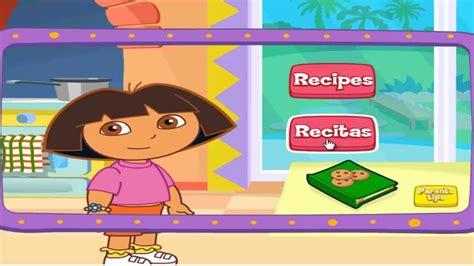 Dora The Explorer-dora's Cooking In La Cucina Game-by