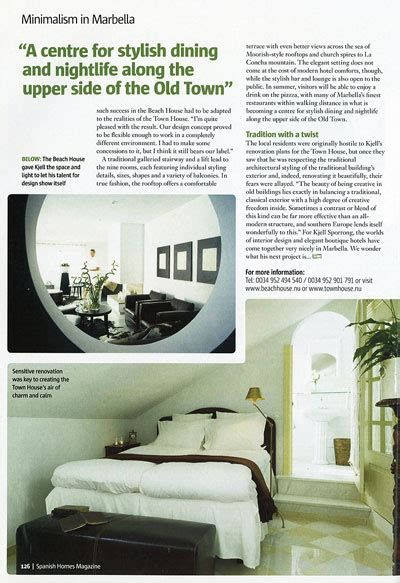 Article In Magazine Homes About Kjell Sporrong  Interior
