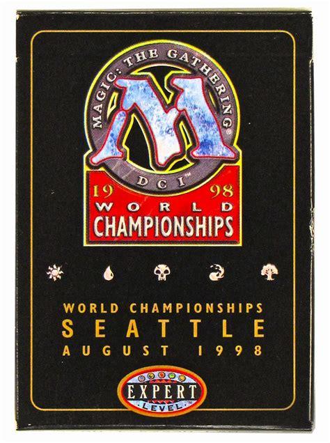 magic the gathering world chionship brian selden deck 1998 da card world