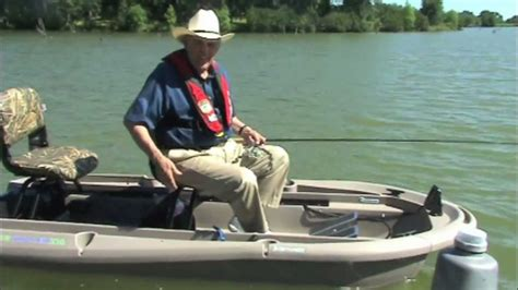 Bass Fishing Boat Videos by Ray Scott Loves His Twin Troller X10 Small Bass Fishing