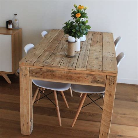 best 25 pallet dining tables ideas on dining