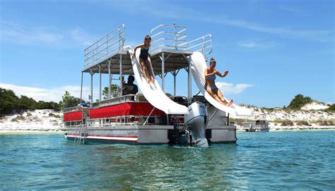 St Andrews State Park Pontoon Boat Rentals Panama City Fl by Pontoon Rentals In Panama City Beach Reserve Your Boat