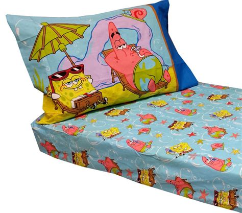 spongebob squarepants toddler bedding sheets set contemporary toddler beds by obedding
