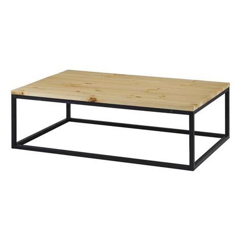 table basse bois et metal pas cher table basse table pliante et table de cuisine