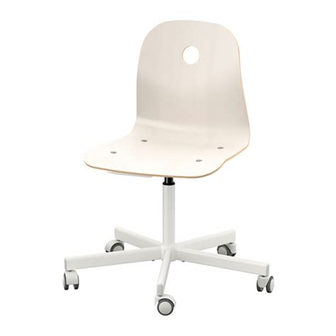 White Swivel Desk Chair Ikea by V 197 Gsberg Sporren Swivel Chair White Ikea