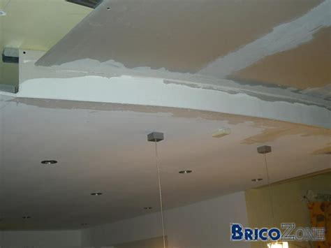 realiser un faux plafonds arrondi