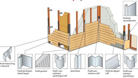 pose facile bardage 224 clin vertical horizontal lames aspect bois