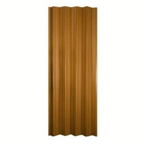 accordion doors home depot spectrum 36 in x 80 in oakmont vinyl cherry accordion