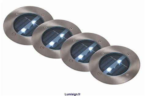 spots extrieur solar lot de 4 marque lucide achat vente spots encastrables sol mur extrieurs