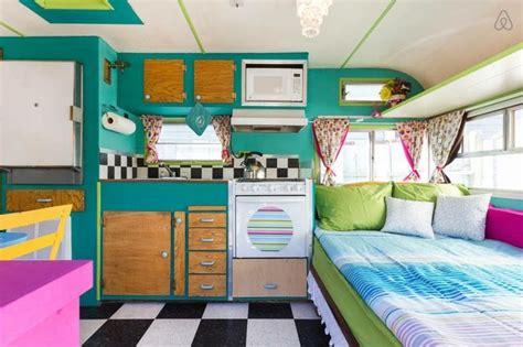 int 233 rieur de caravane comment l am 233 nager caravane caravanes vintage et int 233 rieur