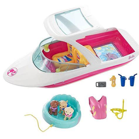 Buy Barbie Boat by Doll Barbie Dolphin Adventure Ocean View Boat 306152