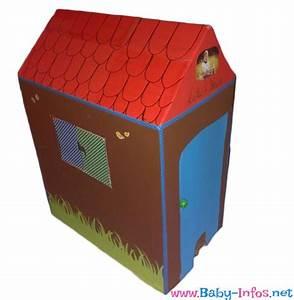 Karton Pappe Kaufen : kinder spielhaus basteln aus pappe anleitung mit bildern ~ Markanthonyermac.com Haus und Dekorationen