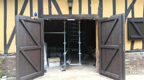 motorisation pour ouverture de porte de garage