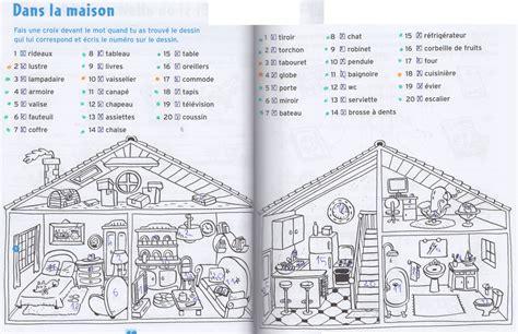 cp vocabulaire dans la maison jpg images frompo