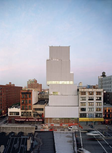 new museum of contemporary in new york i kazuyo sejima ryue nishizawa sanaa architektt
