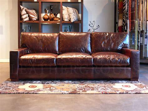 restoration hardware leather sofa reviews hereo sofa