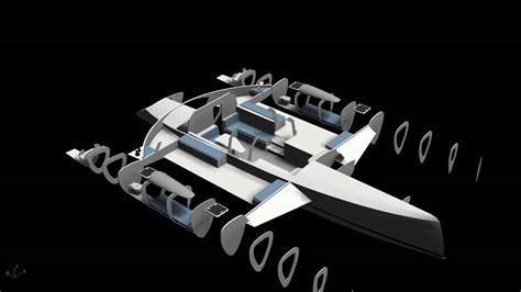 Schionning Catamaran Design by 15 Metre Performance Trimaran Interior Schionning