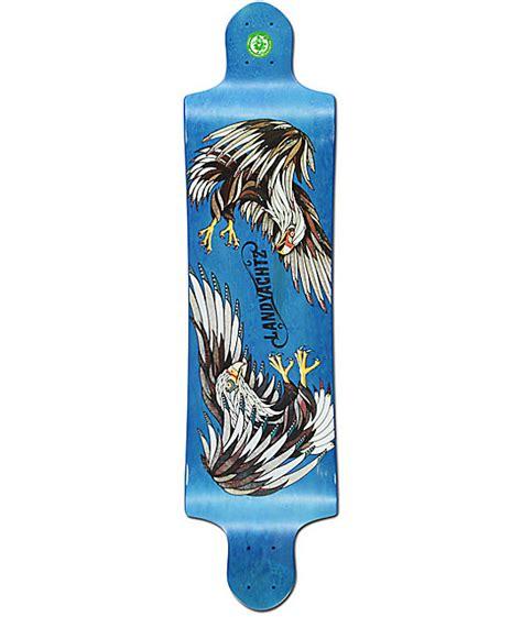 landyachtz switch eagle 40 quot drop longboard deck at